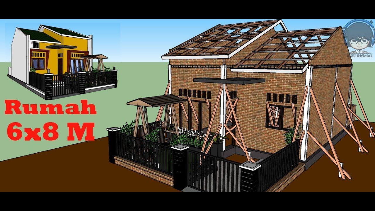 Desain Rumah Ukuran 6x9 3 Kamar Tidur