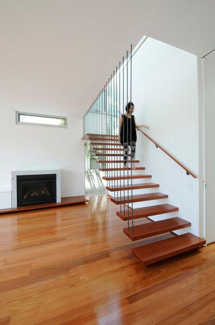 modern staircase by Bill\u0027s Decoración y diseño Pinterest