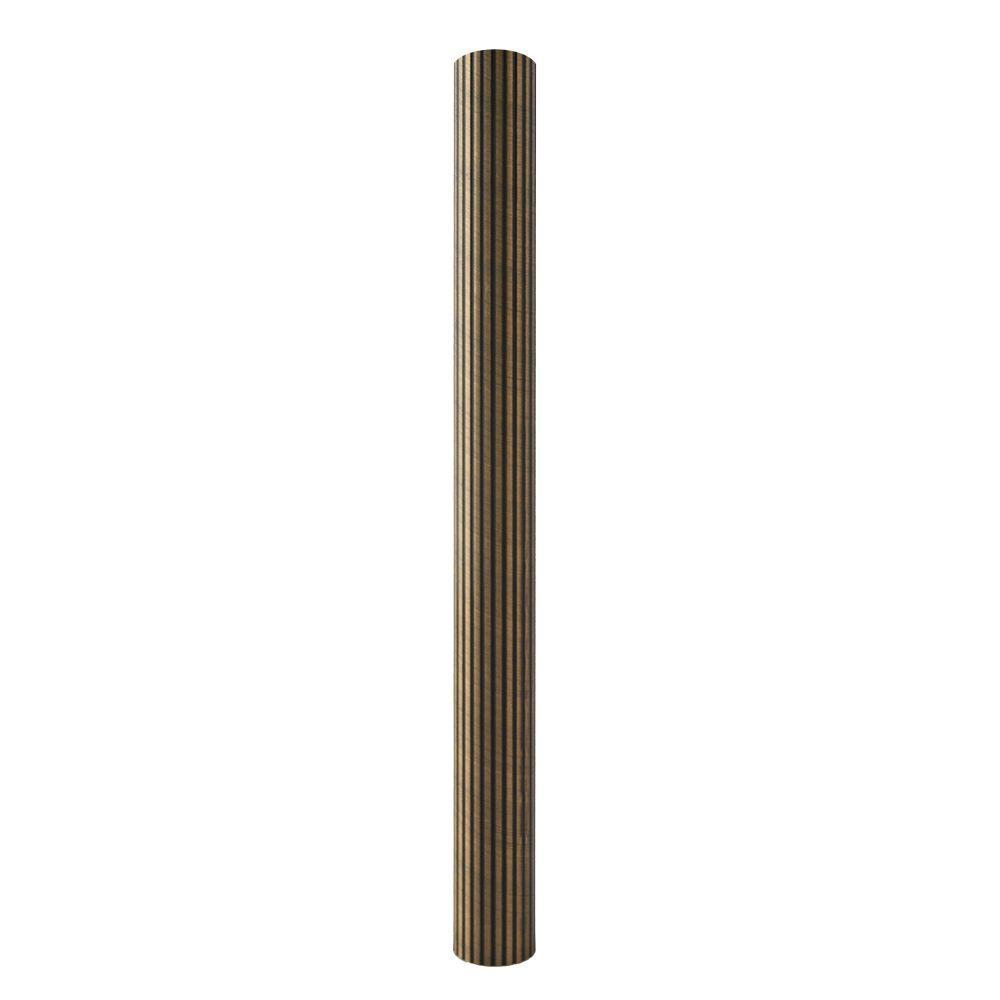 Lido Designs 1 31 In Copper Oil Rubbed Bronze Reeded Closet Rod Lb 07 A106 8 Closet Rod Oil Rubbed Bronze Home Depot