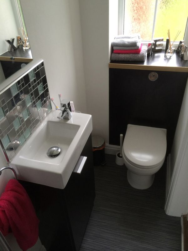 Small En Suite Shower Room With Bathroom Installation In