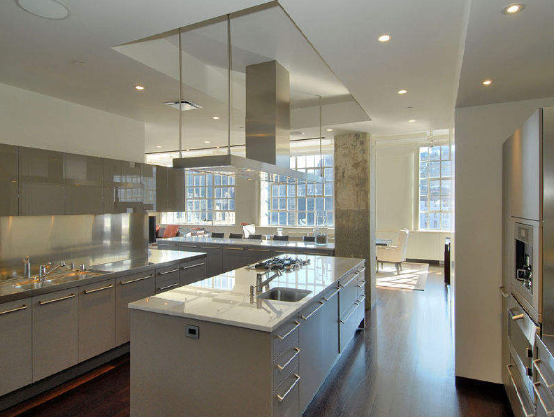 145 Hudson Street Kitchen With Images Nyc Loft Apartments