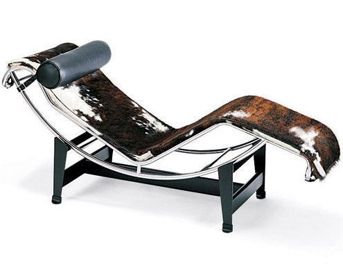 Le Corbusier Lc4 Design Pierre Jeanneret Charlotte Perriand 1928 Sling Seat Metal Frame Made In Italy By Cassina
