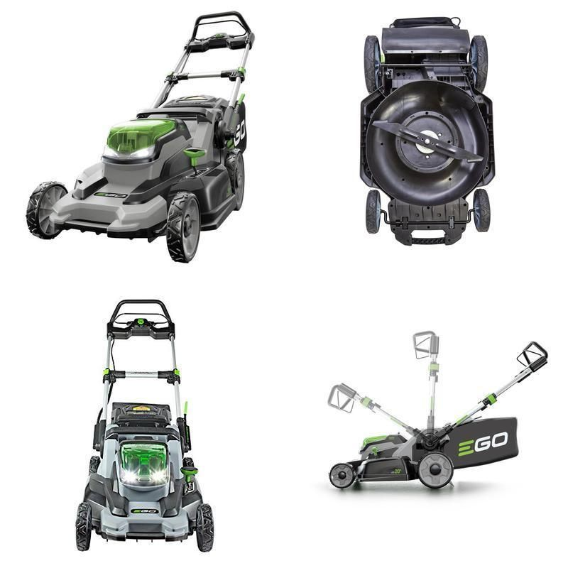 42bb2af52 EGO Power 20-Inch 56-Volt Lithium-ion Cordless Lawn Mower - 4.0Ah Battery  and C