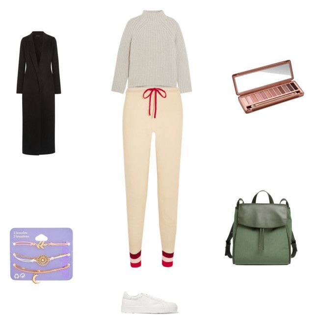 Untitled #5205 by nicole-barry2601 on Polyvore featuring polyvore fashion style Theory The Row Madeleine Thompson Jil Sander Skagen claire's Urban Decay clothing
