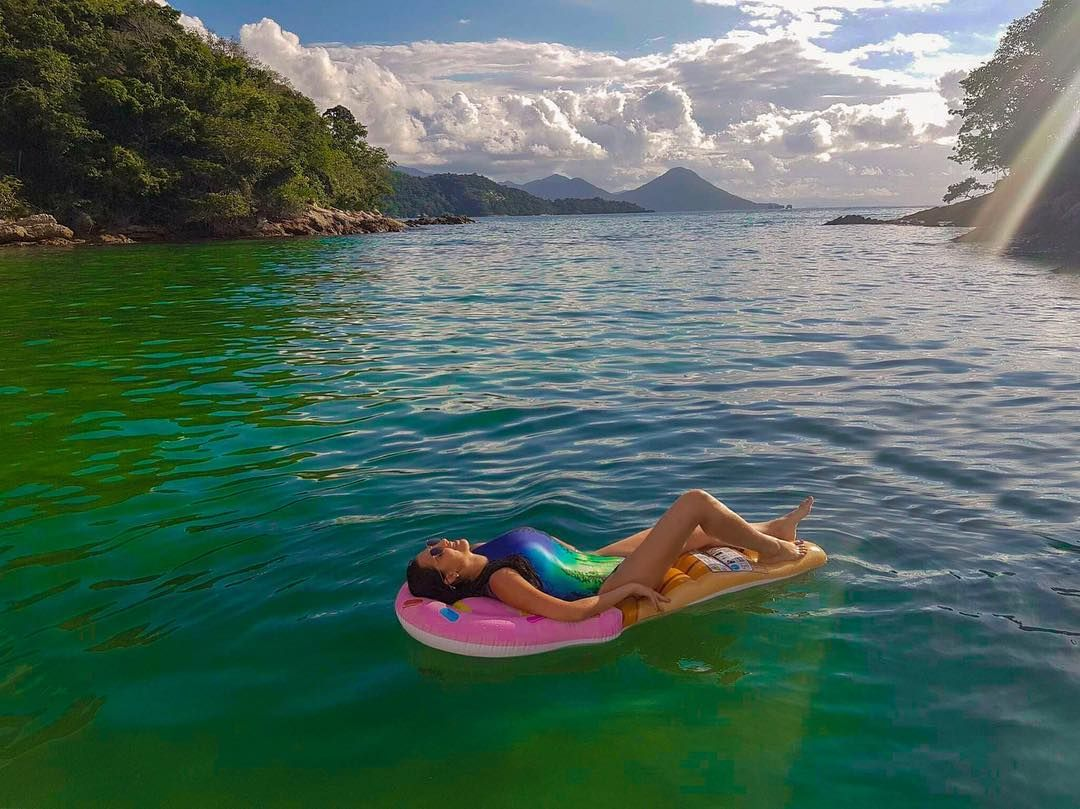 Nos Encerramos O Passeio Ilhas Paradisiacas Assistindo O Por Do
