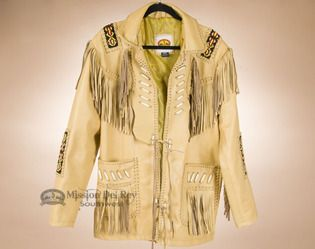 Frontier Style Leather Jacket -Front