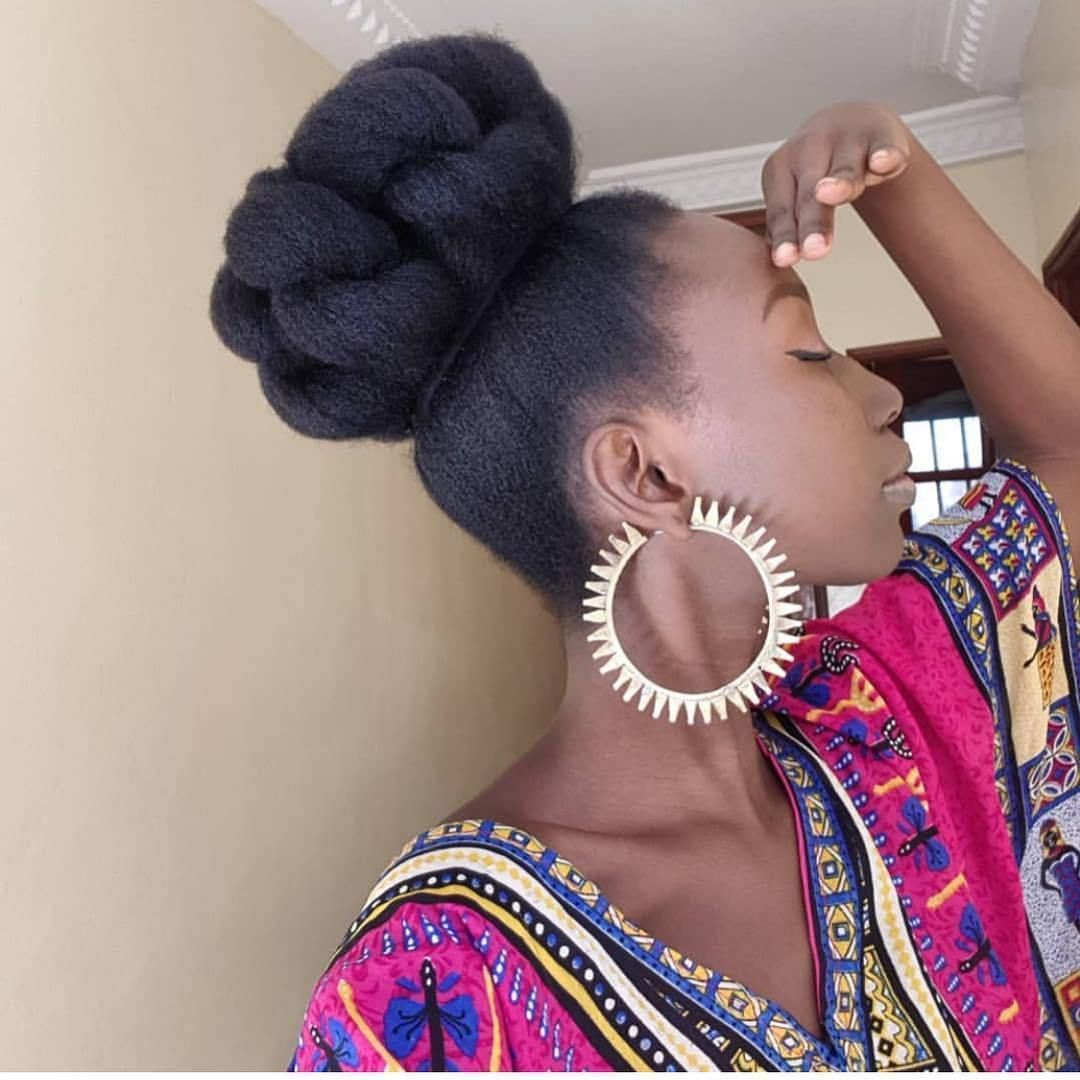12 Different Ways To Style Your Natural Hair At Home