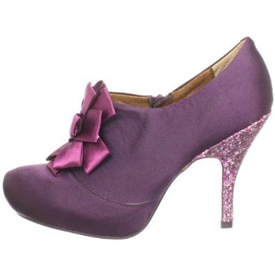 Poetic Licence Women's Dinner Out Bootie - I know they're not classy or chic, but the little 4 year old girl in me cries out for these princess pumps!