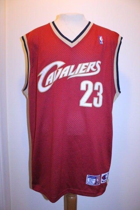 on sale bde2a 701d6 Details about NBA Authentic LeBron James Cleveland Cavaliers ...