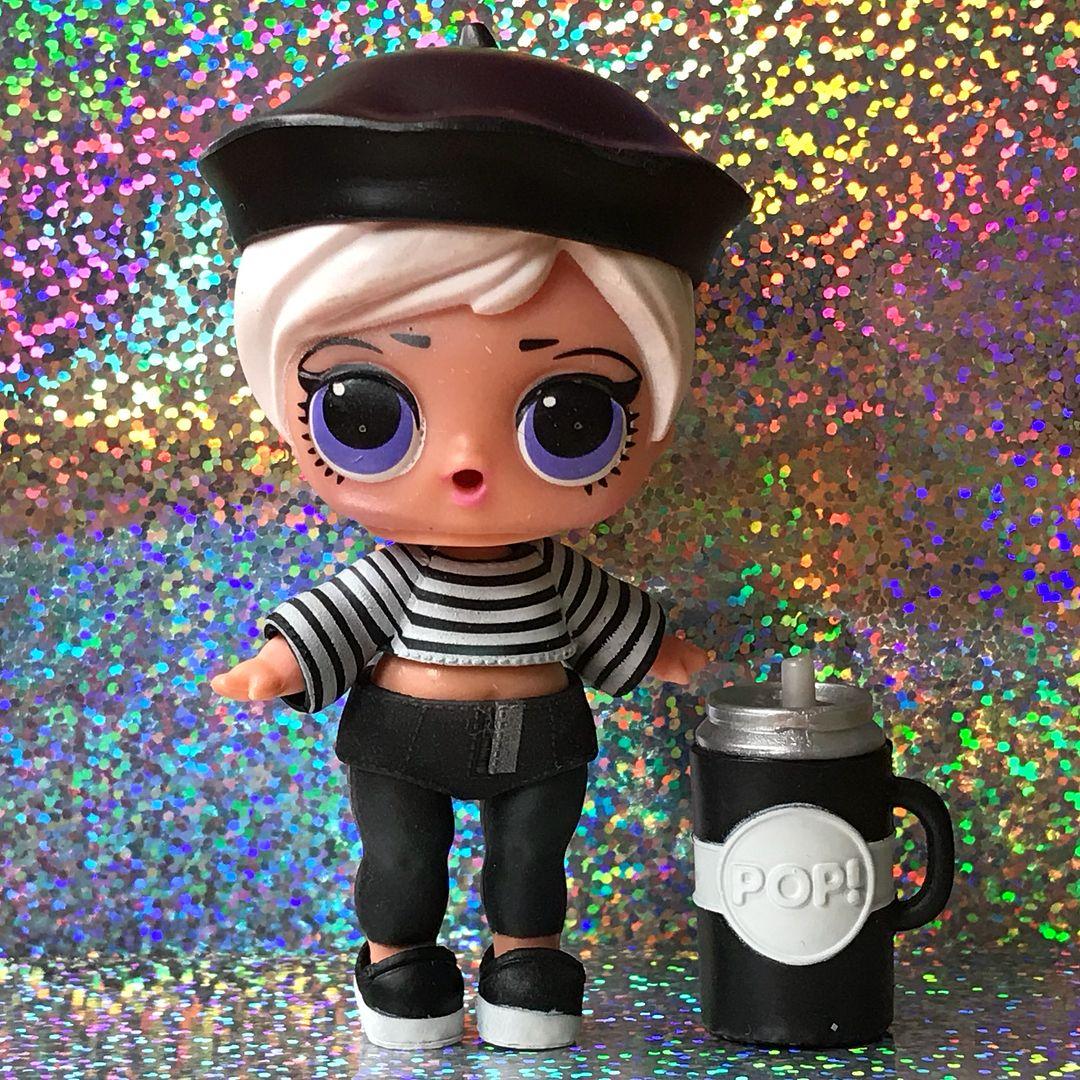 LOL Surprise BEATNIK BABE; Confetti Pop Series 3 Wave 2 Doll Opened