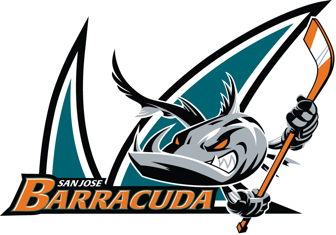 San Jose Barracuda Logo AHL American hockey league