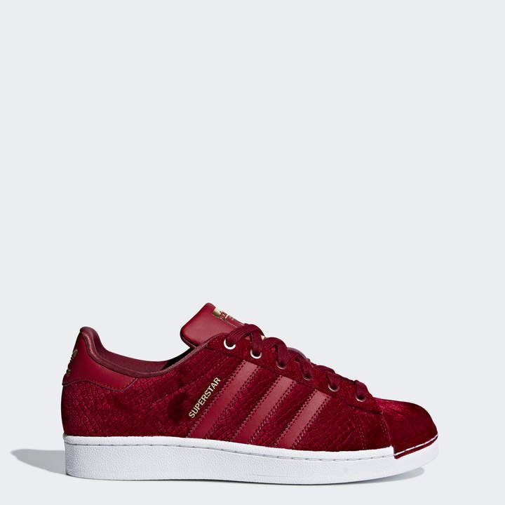 zapatillas rojas adidas superstar