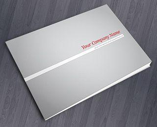 Clean Modern Brochure By Martint Via Creattica  Brochure Design
