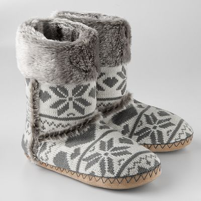 cute and cozy slippers, Kohls