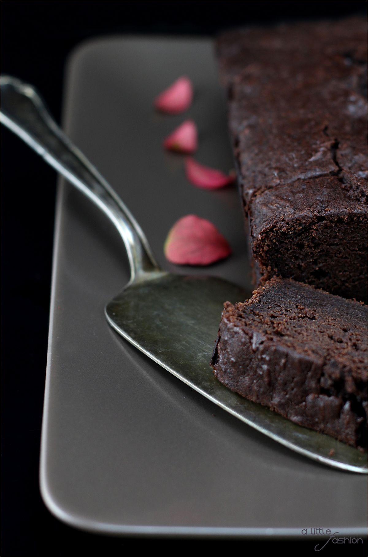 Apfel Brownie Kuchen extra saftig und schokoladig