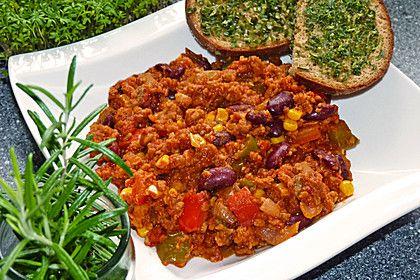 Vegetarisch Veganes Chili Sin Carne Supernova Rezept Kochen