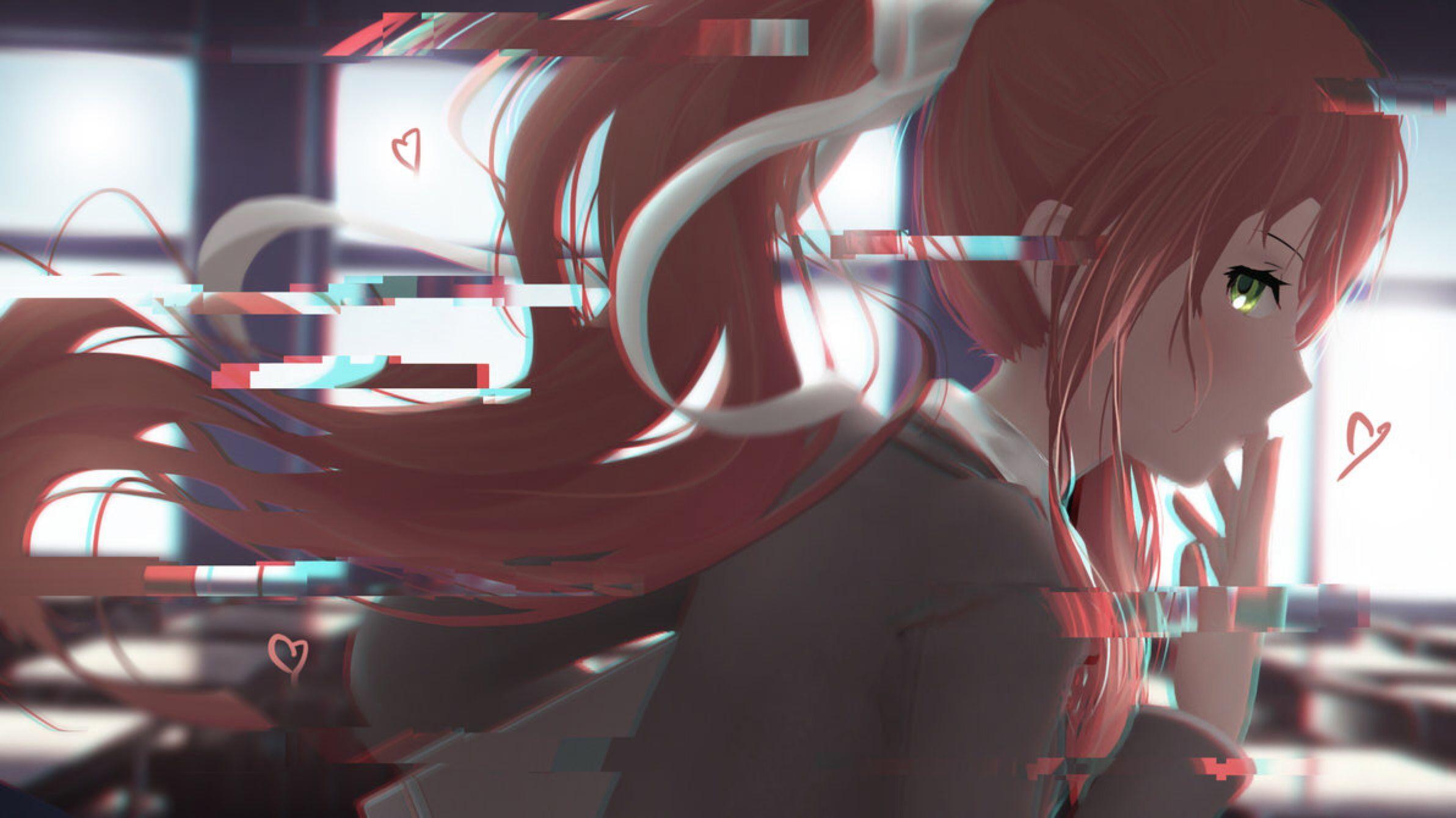 Just Monika By Sculp2 On Deviantart Literature Club Aesthetic Anime Literature