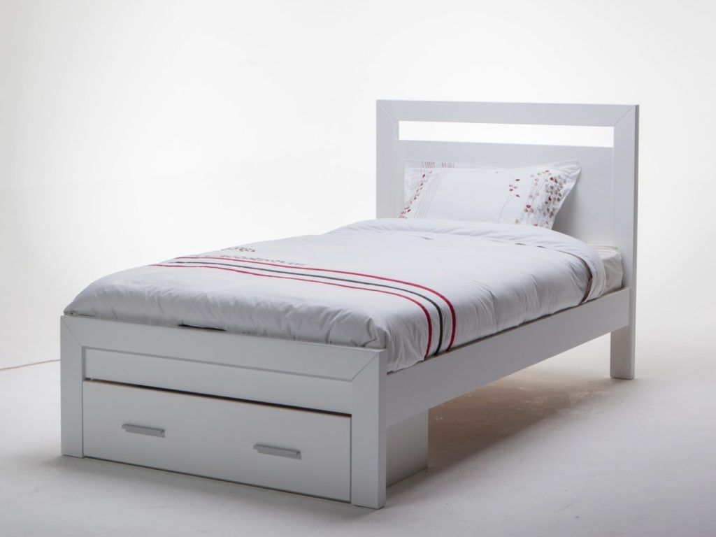 white wooden king single bed frame bed frames ideas pinterest