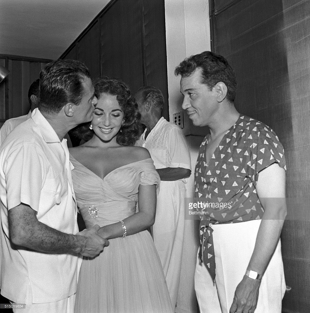 Mike Todd, Elizabeth Taylor, Cantinflas