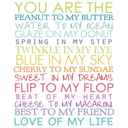 Perfect as a delightful focal point or in an eye-catching vignette, this typographic canvas giclee print brings a heartwarming message to your walls. Place i...