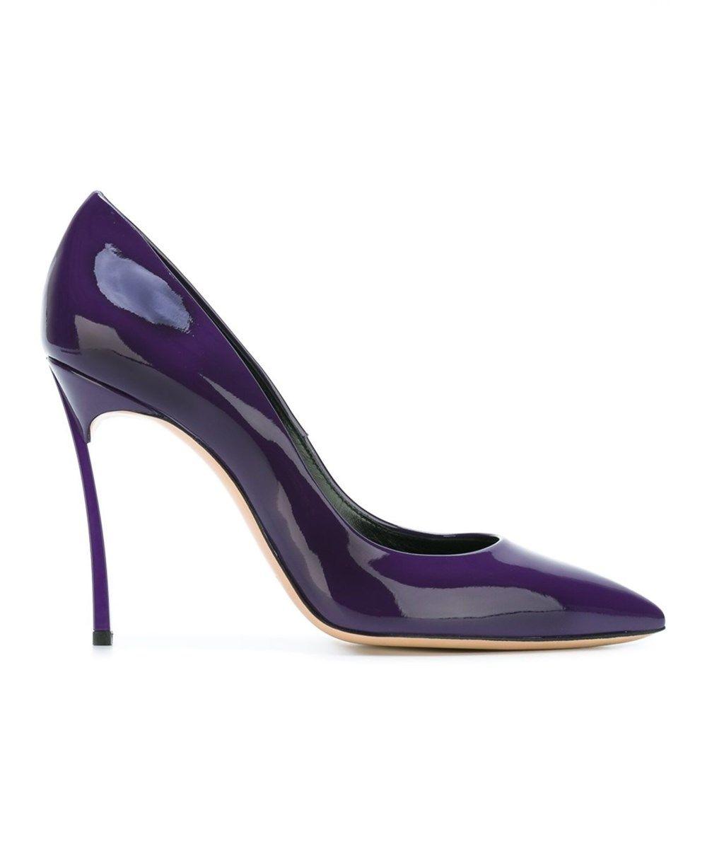 CASADEI Casadei Women S Purple Patent Leather Pumps .  casadei  shoes  pumps    high heels 395bb03e294