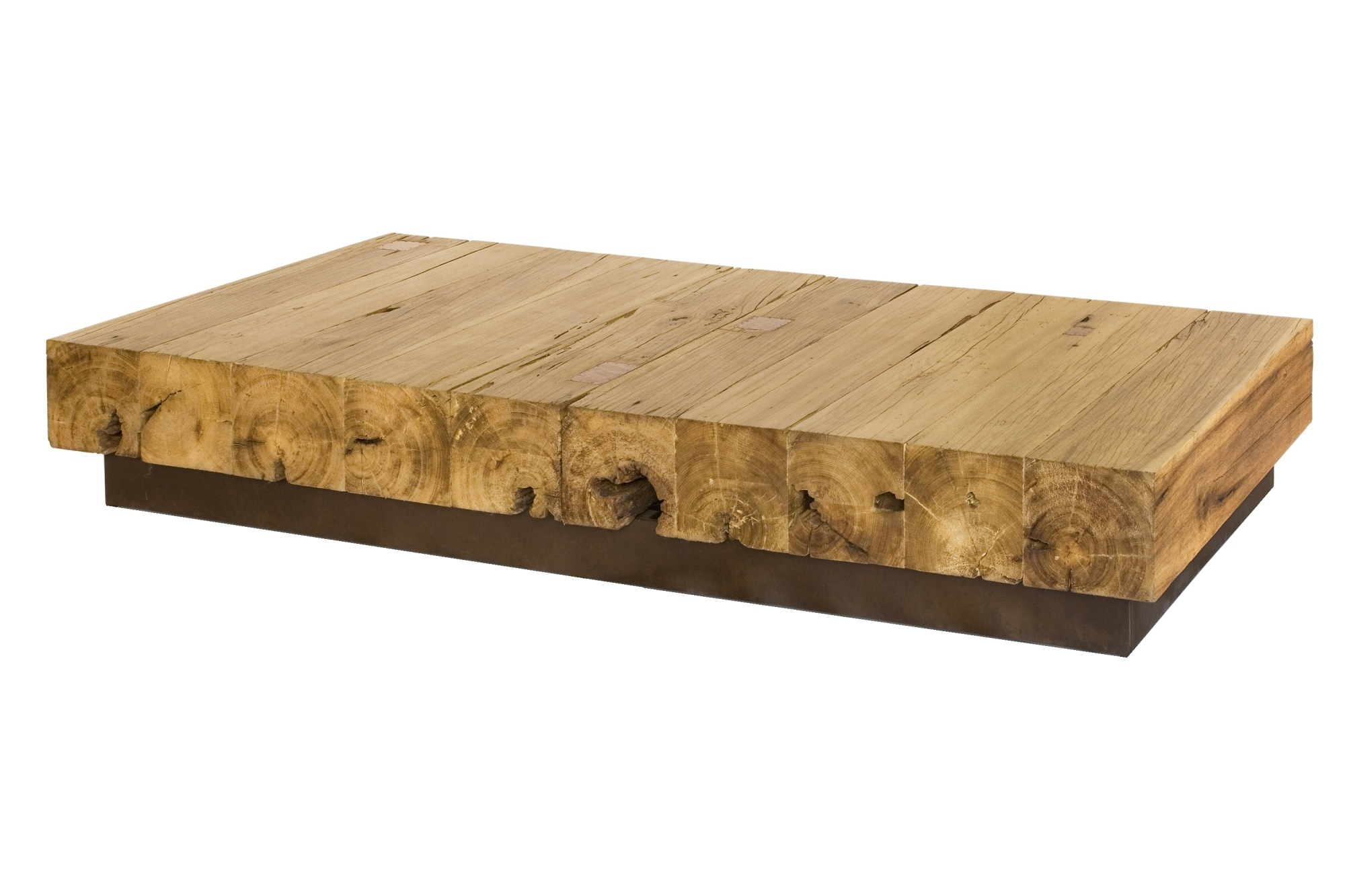 Retalho Coffee Table We just love placing metal and wood to her