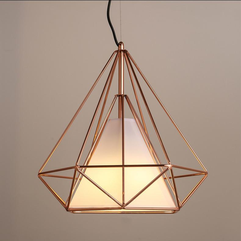 Copper Diamond Wire Cage Pendant Light 60w Black Cage Cage Pendant Light Wire Cage Pendant Light Copper Pendant Lights