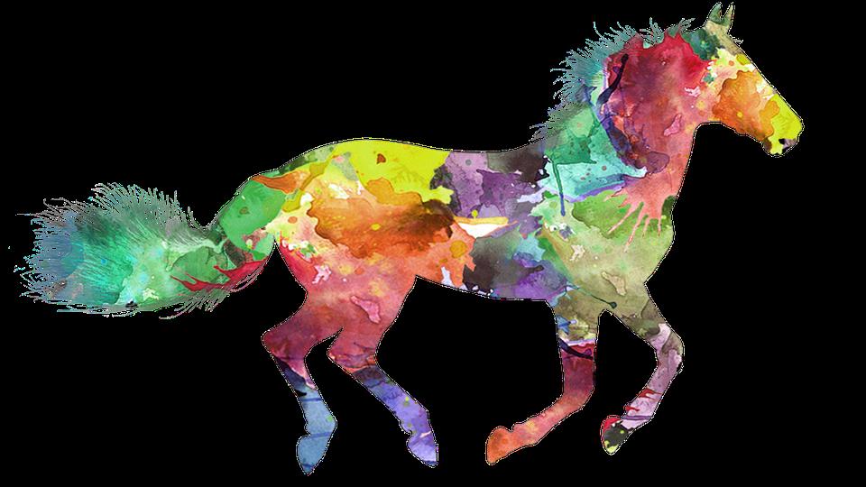 Free Image on Pixabay Horse, Colorful Horse Horse