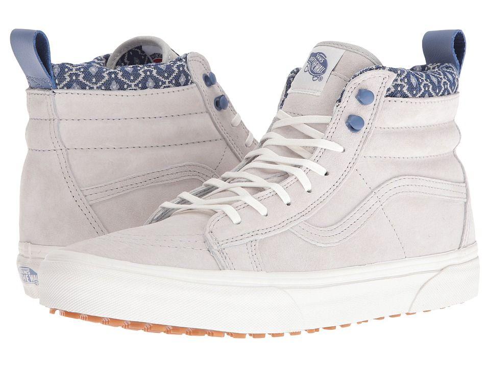 VANS VANS - SK8-HI MTE ((MTE) GRAY VIOLET BLANC DE BLANC) SKATE SHOES.  vans   shoes   0d6d399a5
