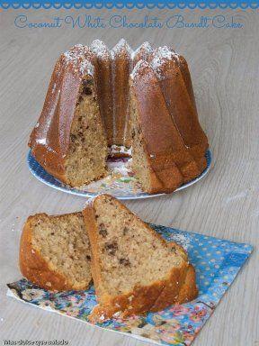 BUNDT CAKES I: CON CHOCOLATE BLANCO Y COCO