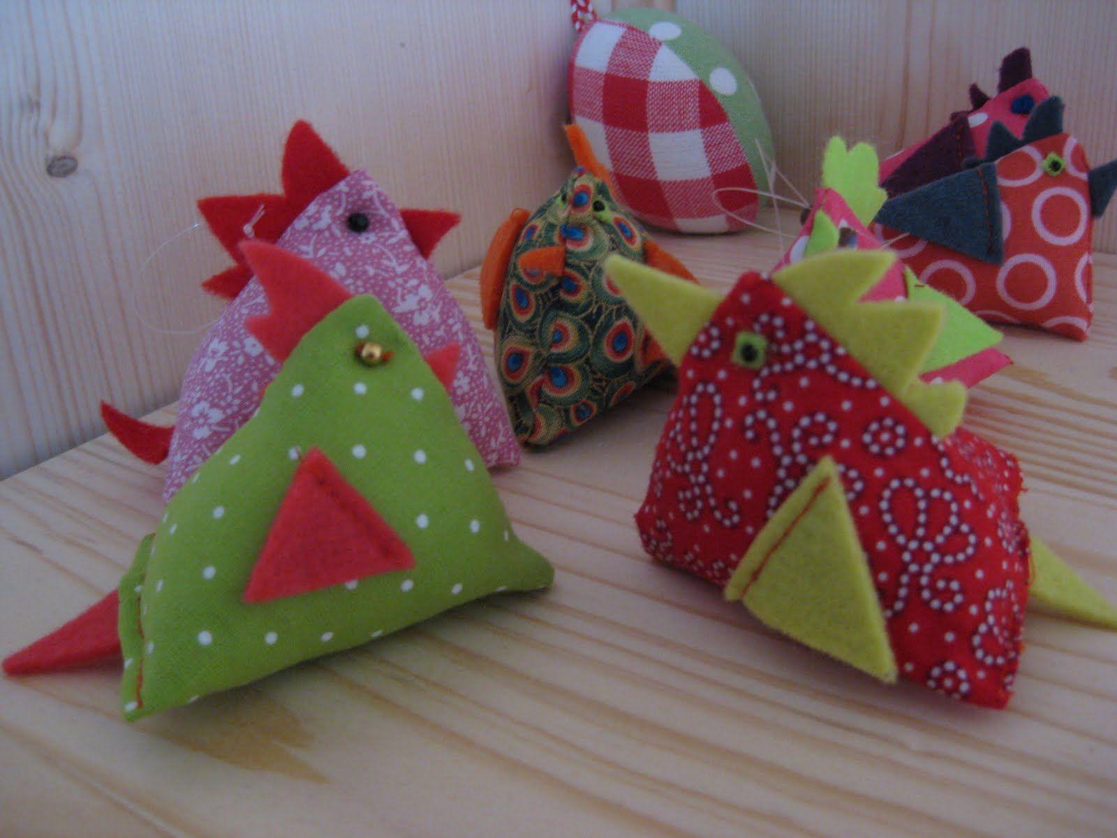 Tout faire maison tuto petites poules en tissu couture poule tissu et id es pour p ques - Blog couture deco maison ...