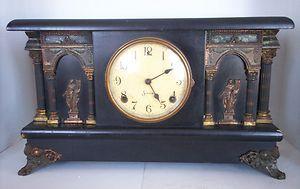 Antique Vintage Sessions Mantle Clock Clock Shelf Clock Mantel