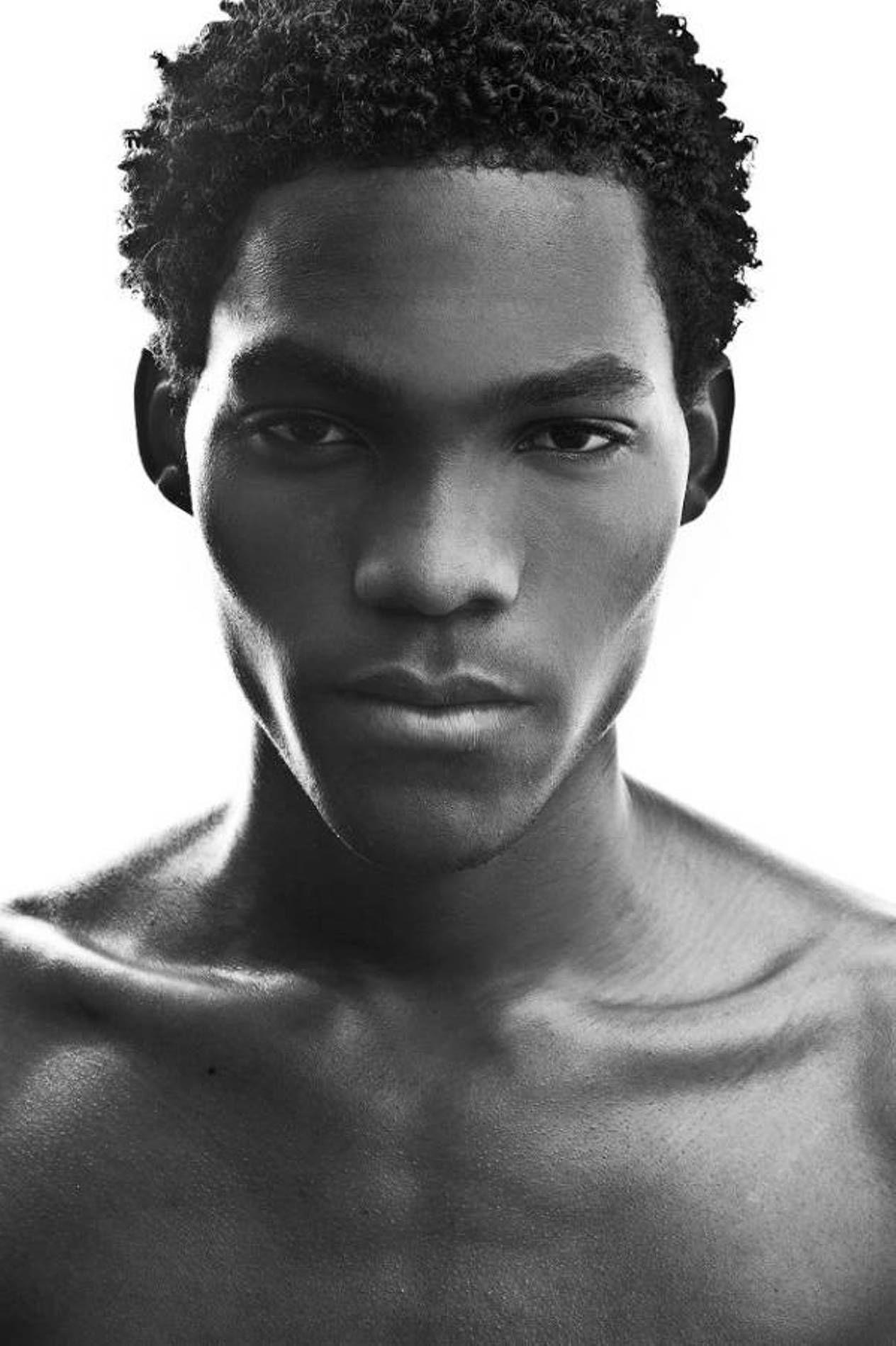 short afro black men hair styles