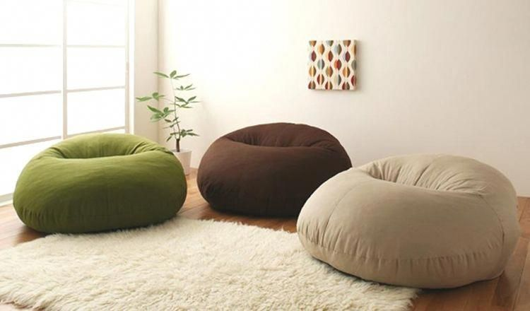 Muji Lazy Single Tatami Twin Donut Couch Potato The Sofa Bean Bag