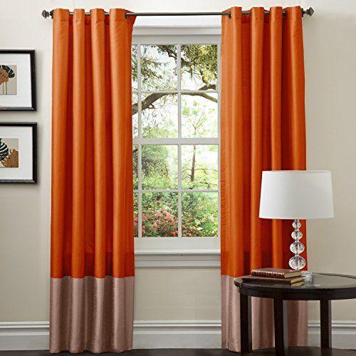 Rust Decor Amazon Com Orange Curtains Brown Curtains Burnt