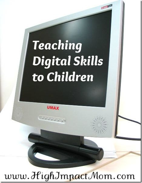 Teaching Kids Basic Computer Skills and Digital Safety TOOLS FOR