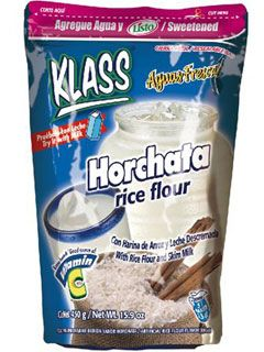Klass Horchata Drink Mix Makes 86 Liters Recipes Spanish