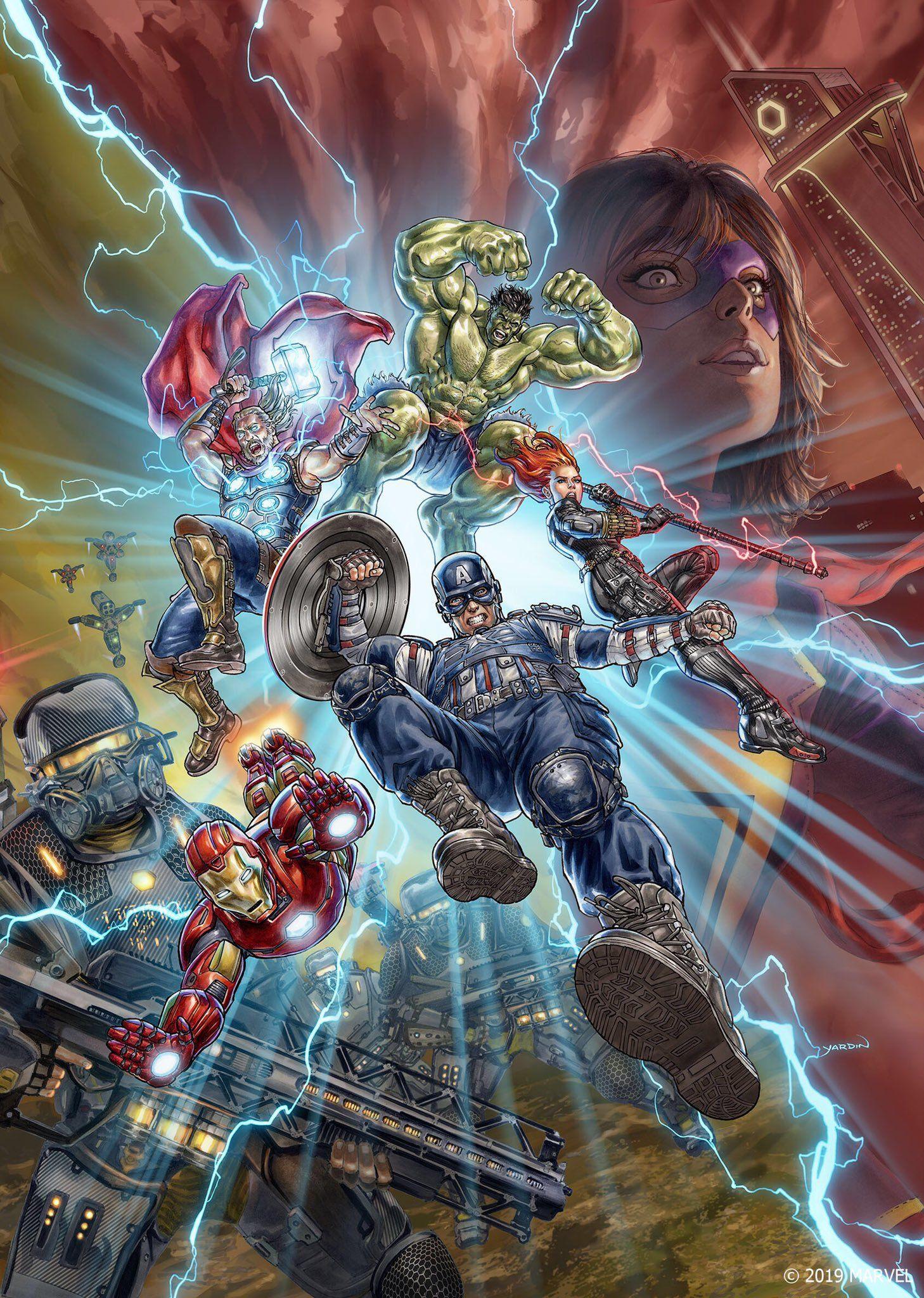 Marvel S Avengers On Twitter Marvel Avengers Games Avengers Games Marvel Avengers