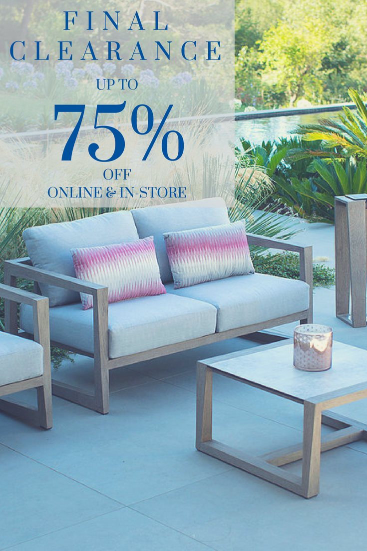 Patio.com\'s annual clearance sale - Save up to 75% off outdoor ...