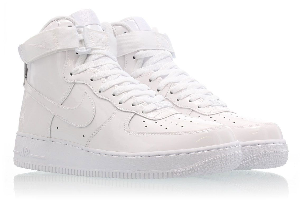 Nike Air Force 1 'Patent Leather' White | SneakerFiles