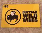 Buffalo Wild Wings Gift Card $25.00