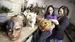 advanced special effects makeup design prosthetics props