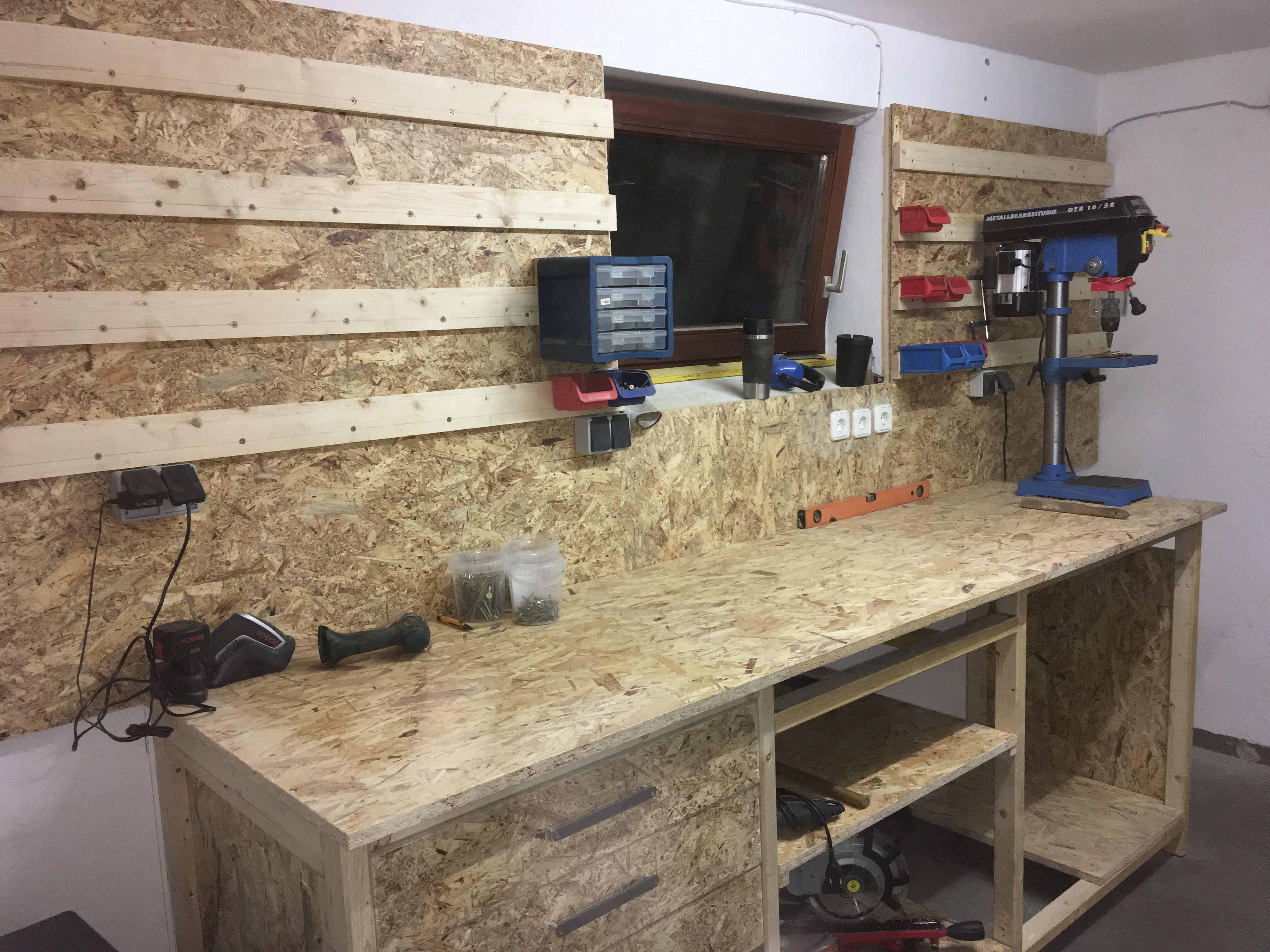 Die Werkstatt habe ich komplett neu gebaut, mit French ...