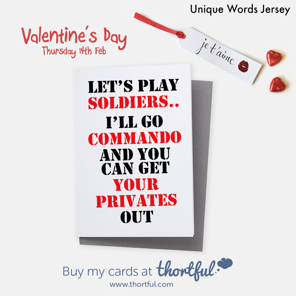 Cheeky Valentine Card Available To Buy On Thortful Com Valentines Cards Cheeky Valentines Cards