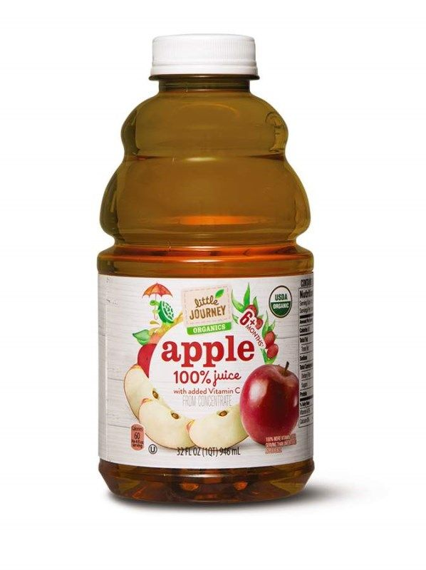 Little Journey Organic 100 Baby Juice ALDIexclusive
