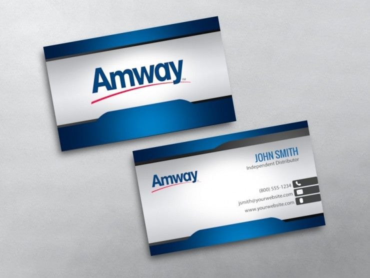 Amway Business Card 01 Amway Amway Business Free Business Cards