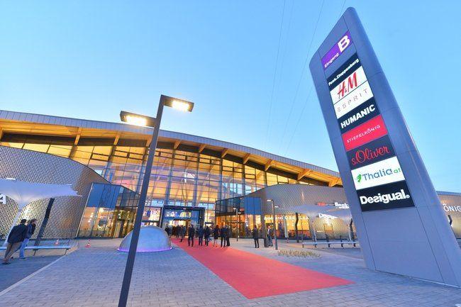 Bécsi bevásárló központ