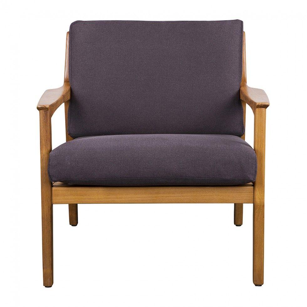 AMERICXANA LOUNGE CHAIR BLACK   Living   HD Buttercup Online U2013 No Ordinary Furniture  Store U2013