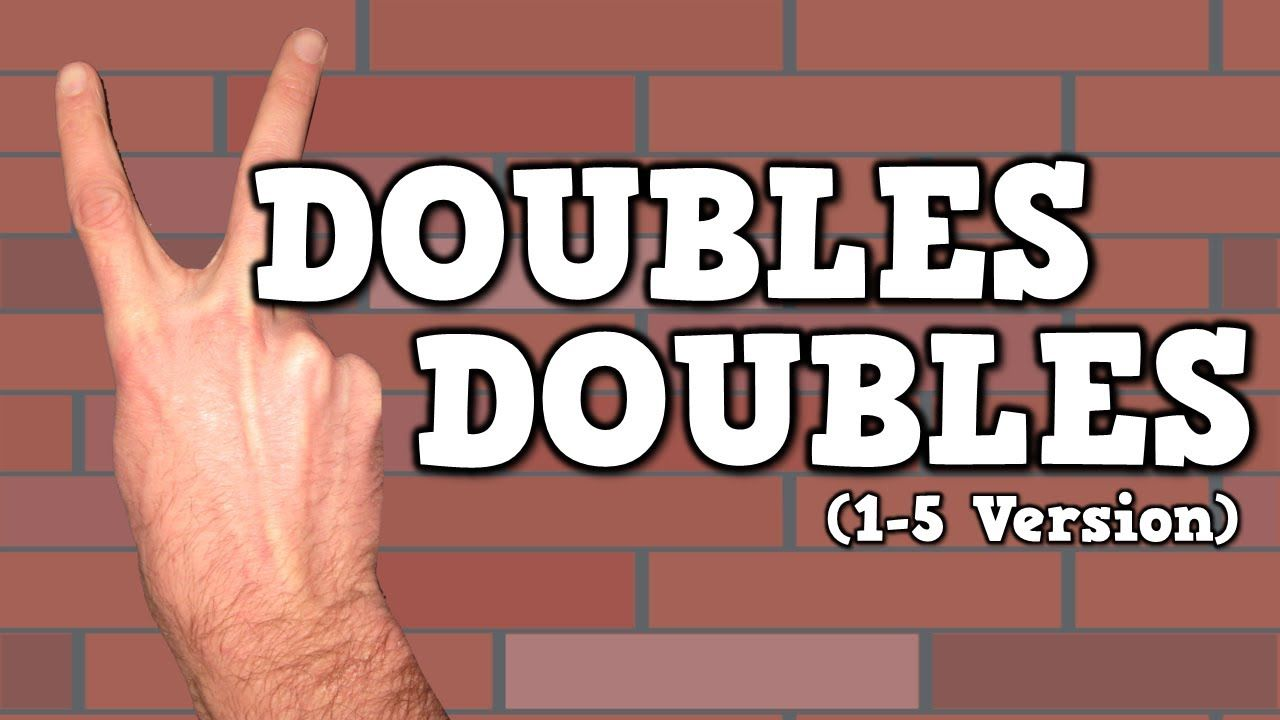 Doubles Doubles I Can Add Doubles Song For Kids About