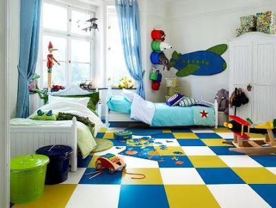 Habitaciones tem ticas para ni os dormitorios con estilo iker boy - Habitaciones tematicas infantiles ...